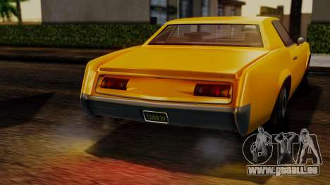 GTA 5 Albany Virgo IVF für GTA San Andreas rechten Ansicht