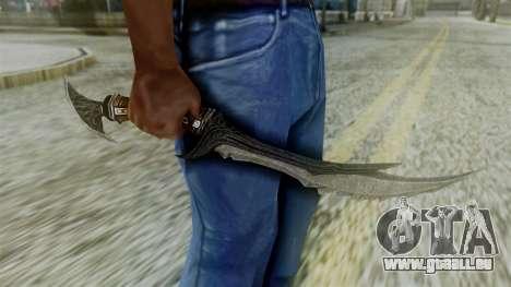 Deadric Dagger pour GTA San Andreas troisième écran