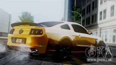 Ford Mustang Boss 302 2013 für GTA San Andreas linke Ansicht