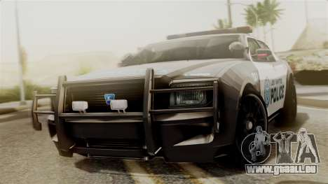 Hunter Citizen from Burnout Paradise Police LS pour GTA San Andreas