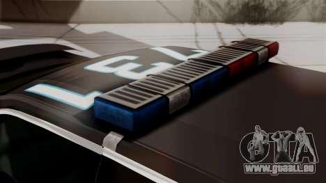 Hunter Citizen from Burnout Paradise Police LS für GTA San Andreas Rückansicht