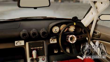 Nissan Silvia S15 24AUTORU pour GTA San Andreas vue de droite
