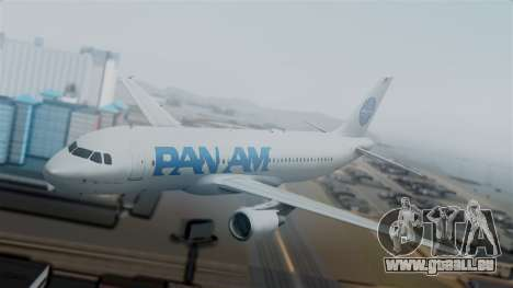 Airbus A320-200 Pan American World Airlines pour GTA San Andreas
