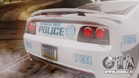 Hunter Citizen from Burnout Paradise v3 für GTA San Andreas rechten Ansicht