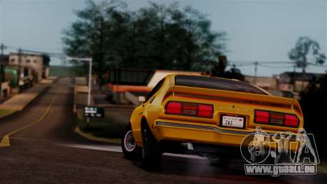 Ford Mustang King Cobra 1978 pour GTA San Andreas moteur