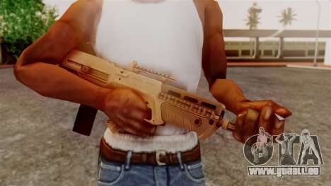 GTA 5 Advanced Rifle pour GTA San Andreas troisième écran