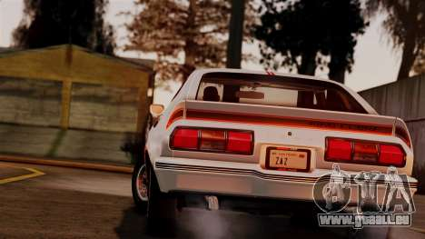 Ford Mustang King Cobra 1978 für GTA San Andreas linke Ansicht