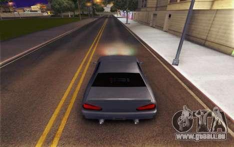 Elegy Explosion v1 pour GTA San Andreas vue de droite