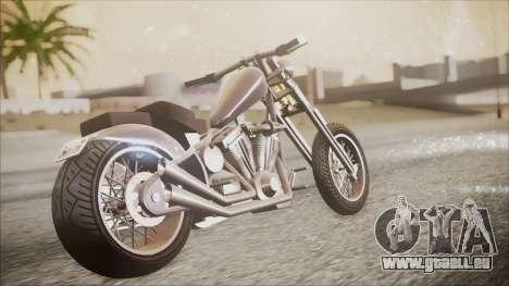 LCC Hexer GTA 5 IVF für GTA San Andreas Rückansicht