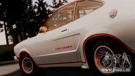 Ford Mustang King Cobra 1978 pour GTA San Andreas vue arrière