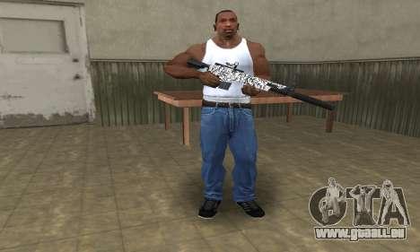 Black Lines Rifle pour GTA San Andreas troisième écran