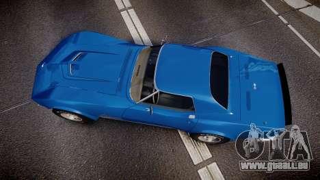 Chevrolet Corvette ZR1 1970 [EPM] für GTA 4 rechte Ansicht