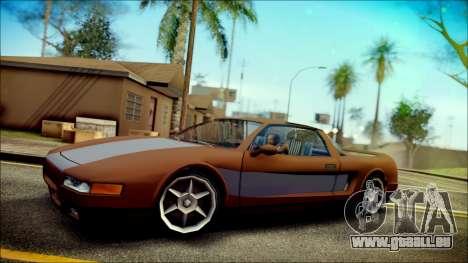 Infernus New Edition pour GTA San Andreas