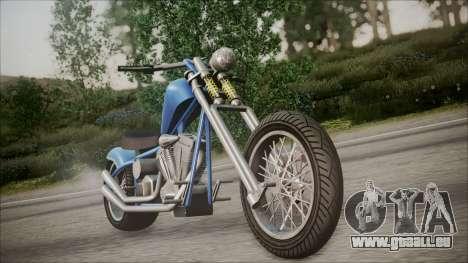 LCC Hexer GTA 5 HQLM pour GTA San Andreas
