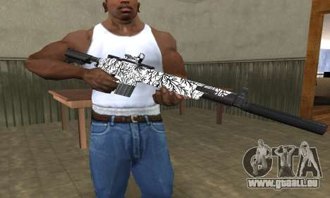 Black Lines Rifle für GTA San Andreas