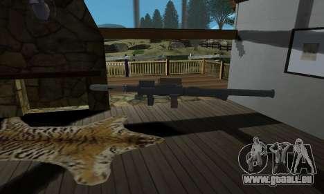 Homing Launcher from GTA 5 für GTA San Andreas zweiten Screenshot