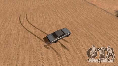 Offroad Effect pour GTA San Andreas troisième écran