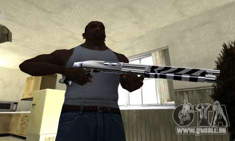Black Lines Shotgun pour GTA San Andreas