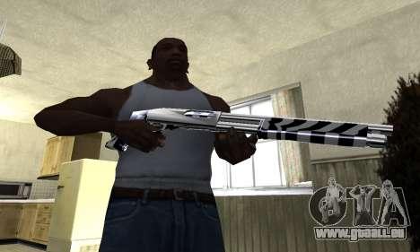 Black Lines Shotgun pour GTA San Andreas