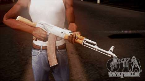 AK-47 v8 from Battlefield Hardline für GTA San Andreas dritten Screenshot