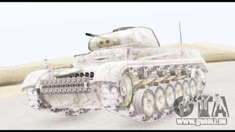 Panzerkampwagen II Snow pour GTA San Andreas