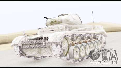 Panzerkampwagen II Snow für GTA San Andreas
