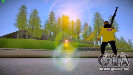 Supr3me Skin pour GTA San Andreas quatrième écran