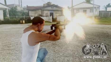 PP-2000 pour GTA San Andreas troisième écran