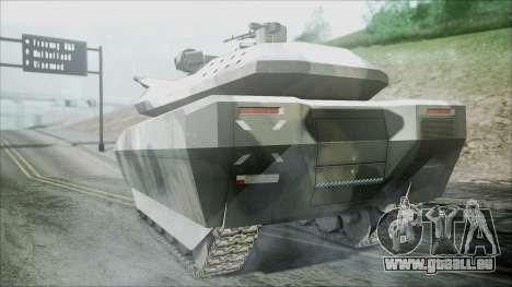 PL-01 Concept Camo pour GTA San Andreas laissé vue