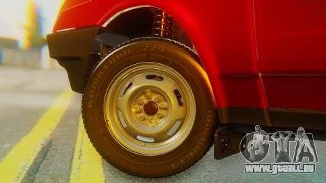 2109 Stoke für GTA San Andreas zurück linke Ansicht