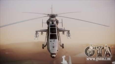 Harbin WZ-19 für GTA San Andreas rechten Ansicht