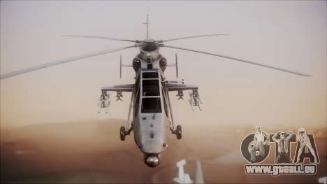 Harbin WZ-19 pour GTA San Andreas vue de droite