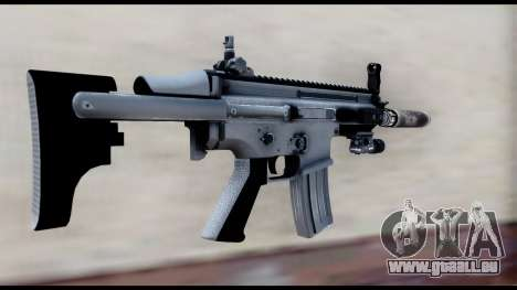 MK16 PDW Advanced Quality v2 für GTA San Andreas zweiten Screenshot