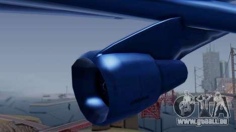 AT-400 Argentina Airlines pour GTA San Andreas vue de droite