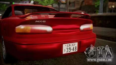 Mazda MX-6 (GE5S) pour GTA San Andreas vue de côté
