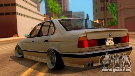 BMW M5 E34 Stance pour GTA San Andreas laissé vue