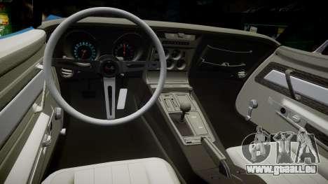 Chevrolet Corvette ZR1 1970 [EPM] für GTA 4 Innenansicht
