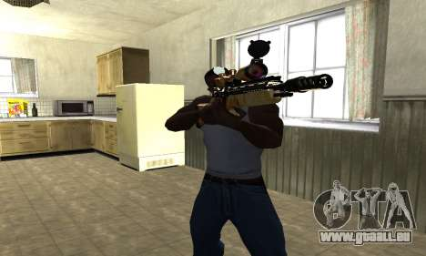 Sniper Rifle für GTA San Andreas zweiten Screenshot