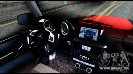 Mercedes-Benz G65 Hamann 2013 für GTA San Andreas zurück linke Ansicht