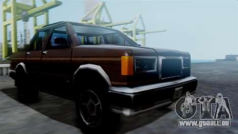 Landstalker Pickup pour GTA San Andreas