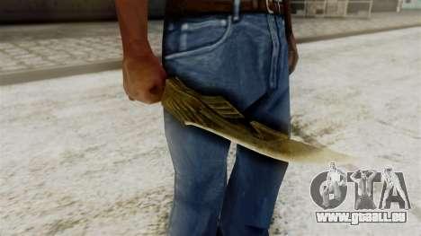 Elven Dagger für GTA San Andreas dritten Screenshot