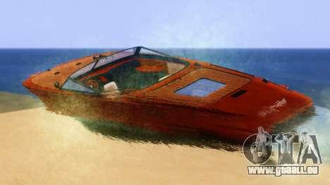 Lampadati Toro pour GTA San Andreas laissé vue
