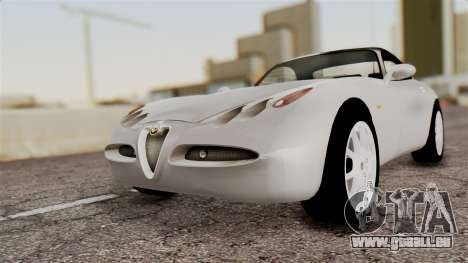 Alfa Romeo Nuvola für GTA San Andreas