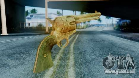 Red Dead Redemption Revolver Diego Assasin für GTA San Andreas zweiten Screenshot