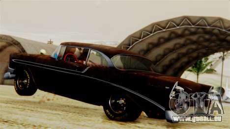 Chevrolet Bel Air 1956 Rat Rod Street pour GTA San Andreas salon