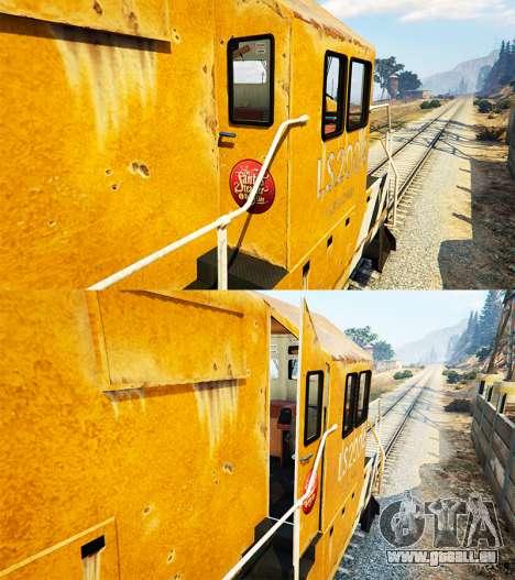 GTA 5 Ingénieur de chemin de fer de la v3.1 quatrième capture d'écran