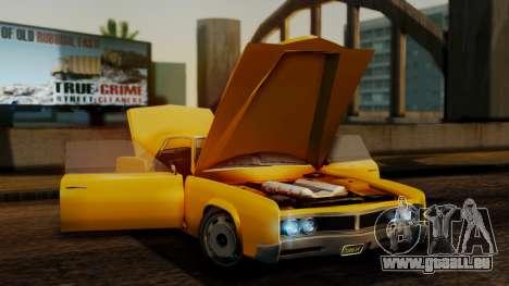GTA 5 Albany Virgo IVF für GTA San Andreas Rückansicht