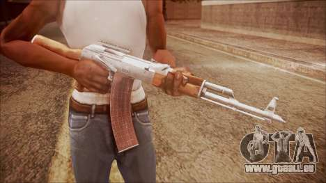 AK-47 v3 from Battlefield Hardline pour GTA San Andreas troisième écran