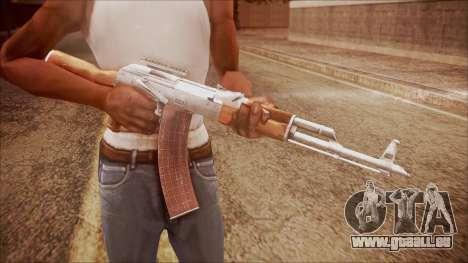 AK-47 v3 from Battlefield Hardline für GTA San Andreas dritten Screenshot