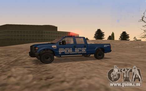 Ford F-250 Incident Response für GTA San Andreas linke Ansicht
